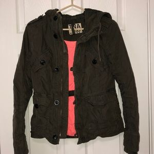TNA jacket with hood
